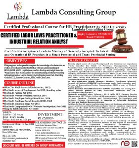 Labor Laws Flyer lambda